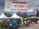 Convivencia Jesus en el Calvario
